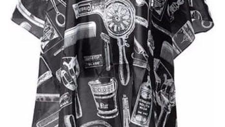 Kadeřnický plášť - s tematickým motivem