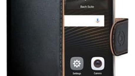 Pouzdro na mobil flipové Celly pro Huawei P9 Lite (WALLY564) černé