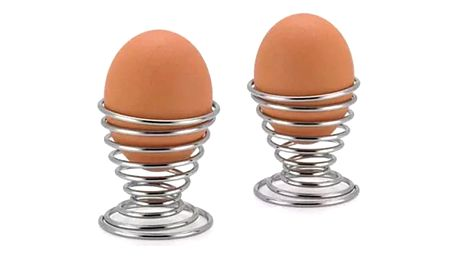 Spirálovitý stojánek na vajíčko - 2 kusy