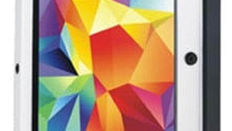 Love Mei Case Samsung GALAXY S5 Three anti protective shell,straight version, White+Black - LMC/0105