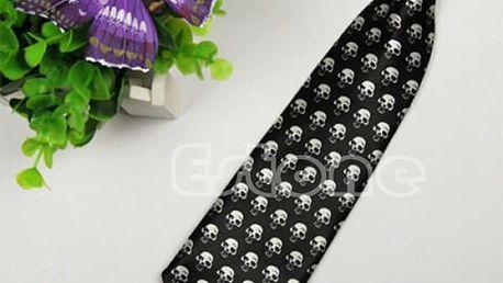 Kravata na gumičce - veselé vzory