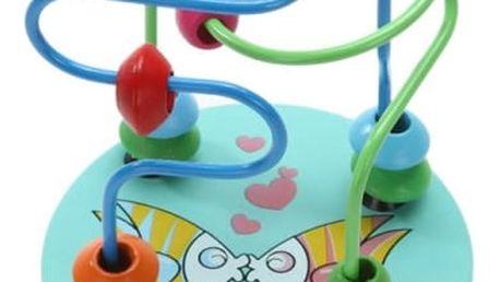Dětská vzdělávací hračka s korálky
