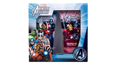 Marvel Avengers Assemble dárková kazeta sprchový gel 150 ml + šampon 150 ml