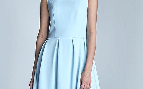 Světle modré šaty S73