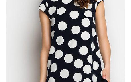 Tmavě-modré šaty A99