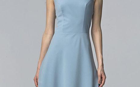 Světle modré šaty S62