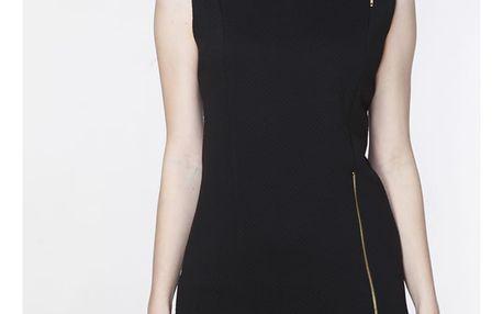 Černé šaty ASU0011