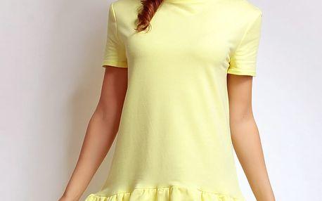 Žluté šaty NA75