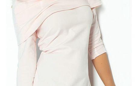 Světle růžové šaty 108-1