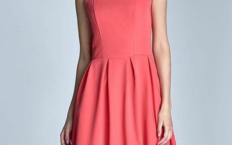 Korálové šaty S73