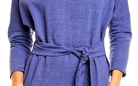 Modré šaty A133