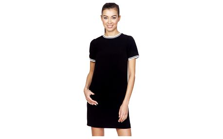 Černé šaty ASU0020