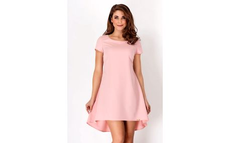 Světle růžové šaty A88