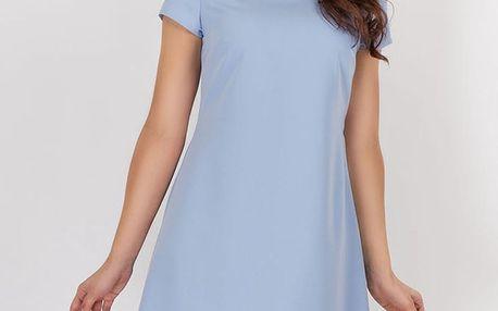 Světle modré šaty A88