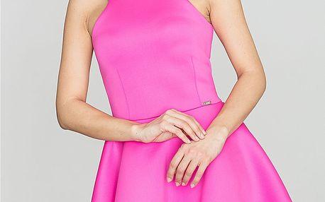 Fuchsiové šaty K265
