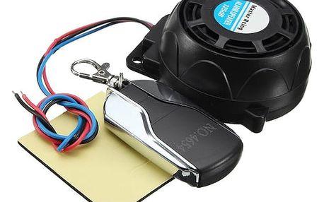 Alarm pro motocykl s dálkovým ovladačem