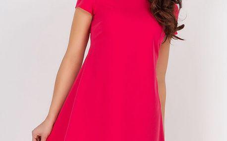 Fuchsiové šaty A88