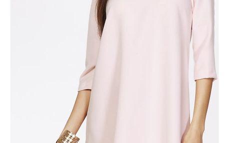 Světle růžové šaty ASU0014
