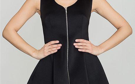 Černé šaty K255