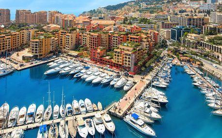 Prázdninový víkendový poznávací výlet do Monaka