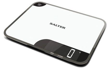 Kuchyňská váha SALTER 2v1 Digitální váha a krájecí plocha 1079WHDR
