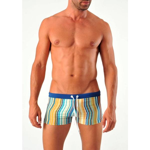 Pánské plavky s nohavičkou Geronimo, modré