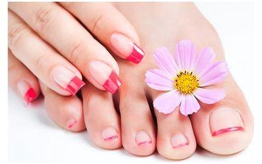 Péče o nehty na nohou a rukou, Praha 2: Gel lak/RockLAC, P-Shine či modeláž gelových nehtů