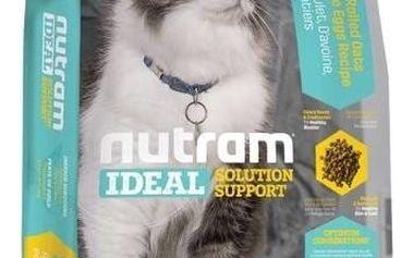 Granule NUTRAM Ideal Indoor Cat 6,8 kg + Antiparazitní obojek za zvýhodněnou cenu + Doprava zdarma