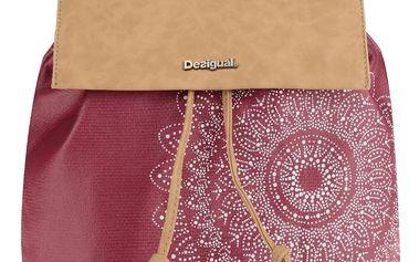 Hnědo-červený batoh Desigual Chakra Sintra