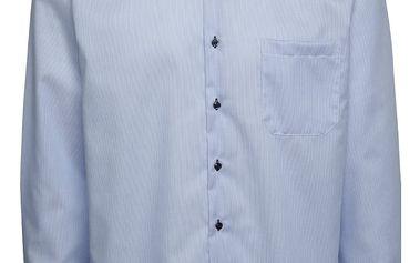 Světle modrá pruhovaná formální košile Seven Seas California