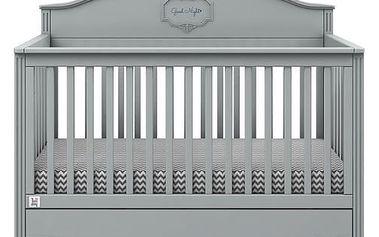Bellamy Postýlka GOOD NIGHT Mint 70x140cm barevné provedení doplňků: Grey