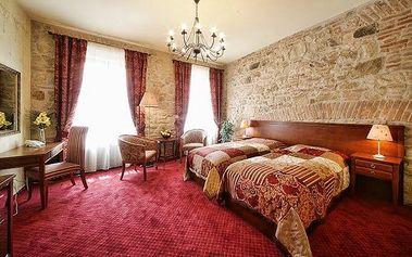 3–6denní pobyt se snídaní v luxusním hotelu Rous**** v centru Plzně pro 2
