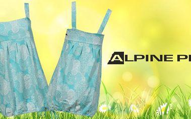 Dámské bavlněné šaty Alpine Pro