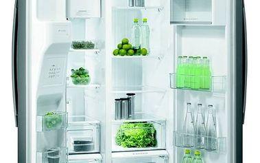 Kombinace chladničky s mrazničkou Gorenje NRS 9181 CX stříbrná + Doprava zdarma