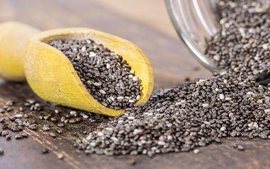 Chia semínka: 1 kg superpotraviny na váš stůl