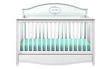 Bellamy Postýlka GOOD NIGHT Mint 70x140cm barevné provedení doplňků: Pure