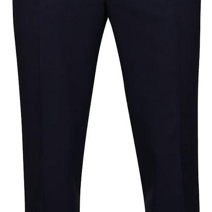 Tmavě modré oblekové slim fit kalhoty Burton Menswear London