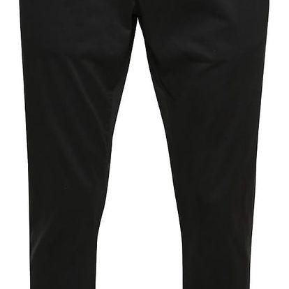 Černé pánské chino kalhoty s páskem s.Oliver