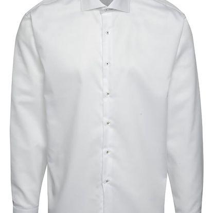 Bílá formální košile Seven Seas Rain drops