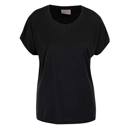 Černé volné tričko VERO MODA Metti