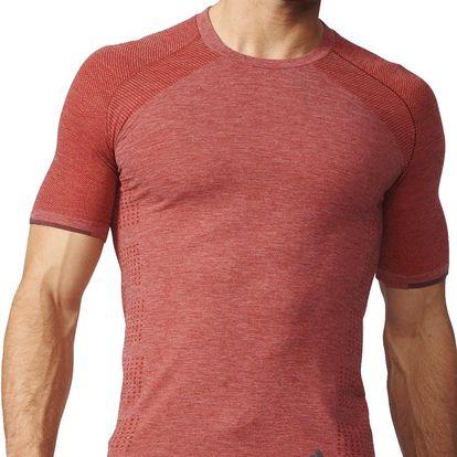 adidas Primeknit Wool Short Sleeve Tee Men XL