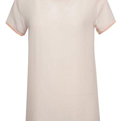 Světle růžový top VERO MODA Callie