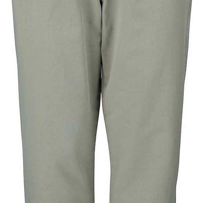 Khaki chino kalhoty s páskem Dorothy Perkins