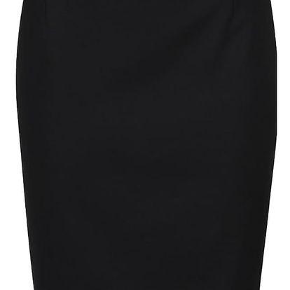 Černá sukně s výraznou gumou v pase French Connection glass
