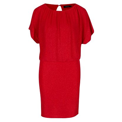 Červené třpytivé šaty Solar b.young