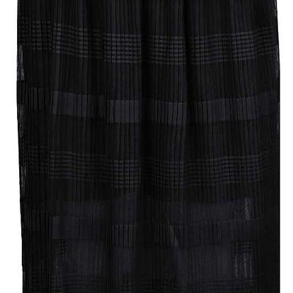 Černá plisovaná midi sukně VERO MODA Yade