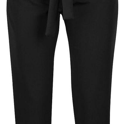 Černé kalhoty s vysokým pasem Haily´s Vanny
