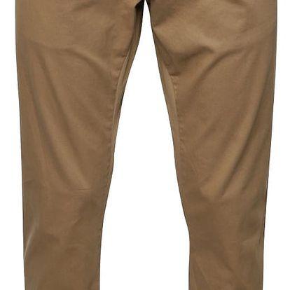 Světle hnědé pánské chino kalhoty s páskem s.Oliver