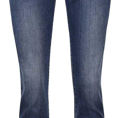 Modré slim fit džíny se vzorovanými detaily VERO MODA Five