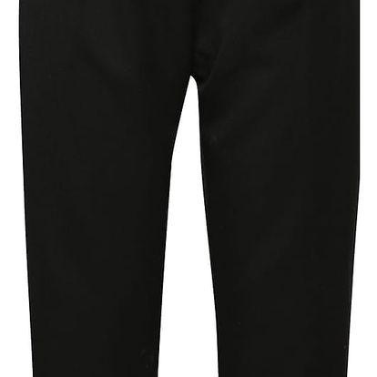 Černé kalhoty s vysokým pasem Madonna Macy Pant